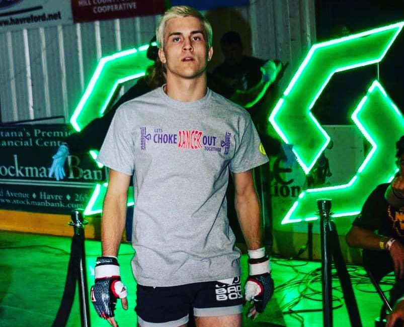 MMA fighter Connor Rideout.