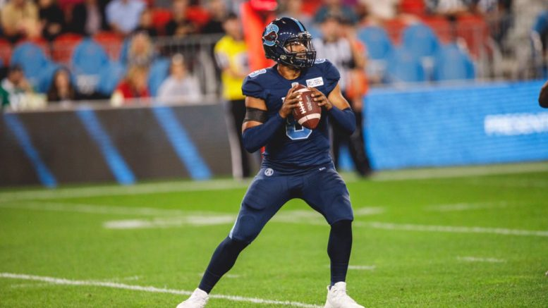 Argos late rally falls well short in Franklin's 1st start since Canada Day | The Toronto Observer